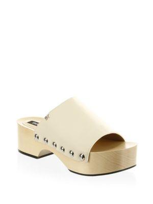 Bogota Leather Platform Sandals