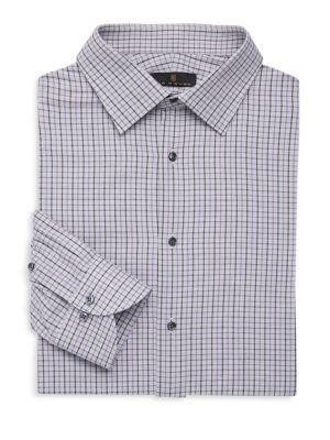 Regular-Fit Check Dress Shirt