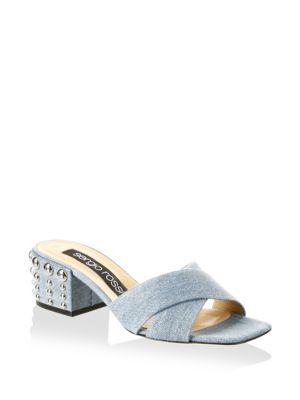 Elettra Denim Sandals