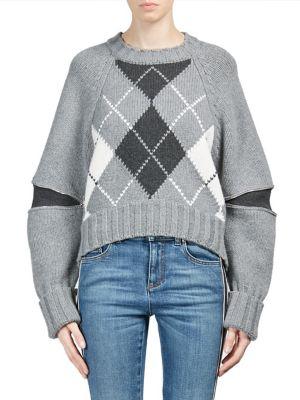Plaid Wool Sweater