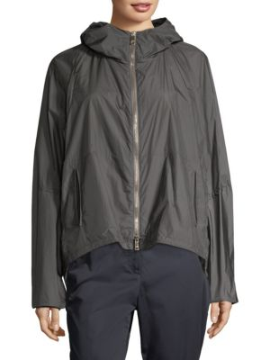 Hooded Parachute Jacket
