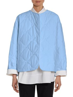 Cotton Poplin Quilted Coat