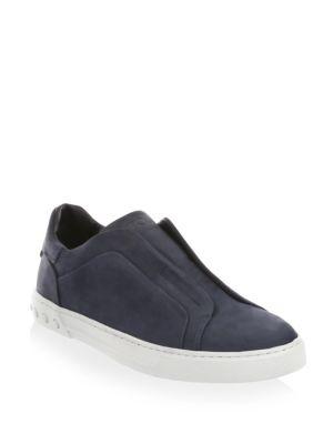 Cassetta Suede Slip-On Sneakers