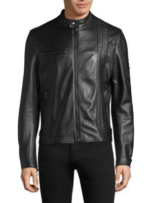 Hempston Leather Jacket