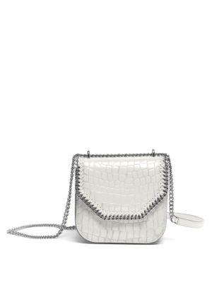 Embossed Mini Shoulder Bag