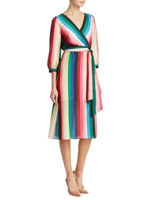 Dyanna Striped Dress