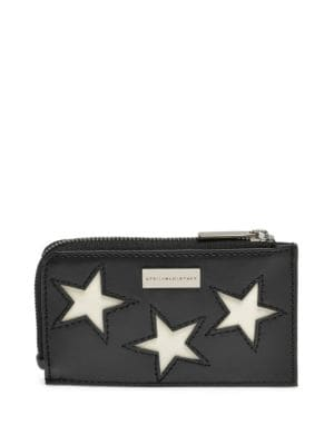Stars Leather Cardholder