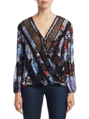Jillie Crossover Blouse