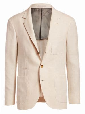 BRUNELLO CUCINELLI | Wool Suit Jacket | Goxip