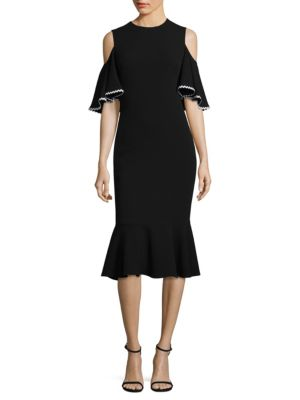 Keiko Cold-Shoulder Dress