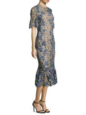Yuri Floral Lace Dress