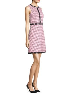 Multi Tweed A-Line Dress