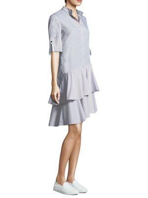 PROSE & POETRY Carter Asymmetrical Shirt Dress