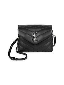 생 로랑 Saint Laurent Toy Lou Lou Crossbody Flap Bag