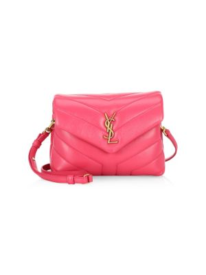 Toy Lou Lou Crossbody Flap Bag in Pink