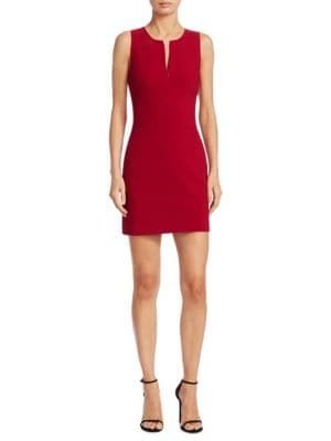 CULLIN DRESS WITH ZIP PLACKET