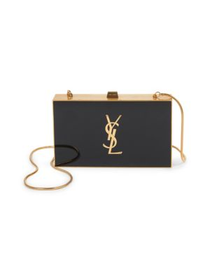 tuxedo-minaudiere-with-chain-strap by saint-laurent