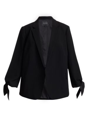 Bria Crepe Jacket