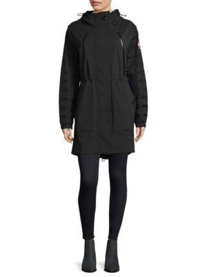 Down Filled Sleeve Sabine Coat by Canada Goose