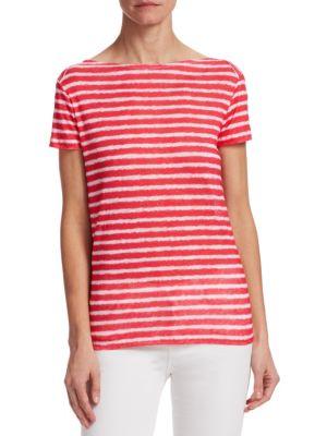 Linen Stripe Top
