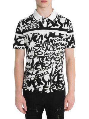 Graffiti Cotton Polo