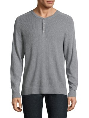 Thermal Stitch Henley