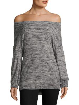 Off-The-Shoulder Pullover