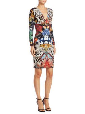 Butterfly Bodycon Dress