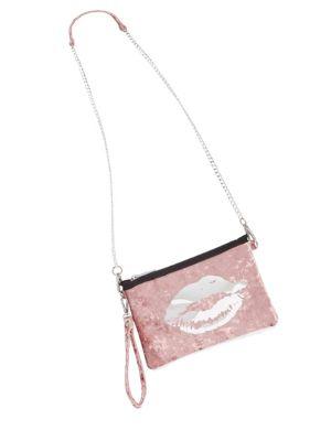 Kiss Velvet Crossbody Bag