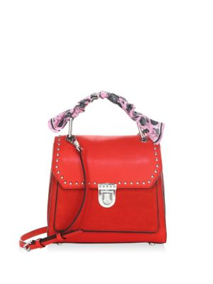St Tropez Small Leather Satchel