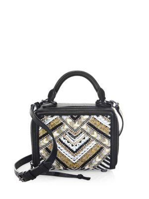 Wonderbox Beaded Crossbody Bag