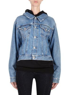 Indigo Denim Backwards Jacket