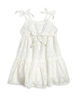 Toddler's, Little Girl's & Girl's Floral Lace Dress