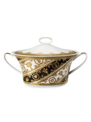 I Love Baroque Covered Vegetable Bowl