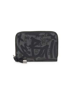 Bivy Graffiti Leather Coin Wallet