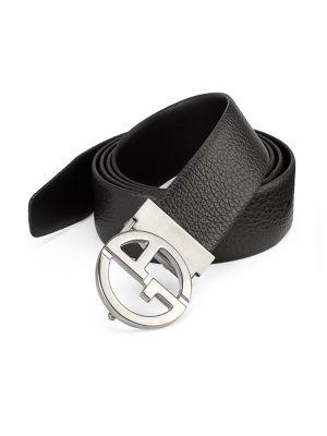 Plate Leather Belt