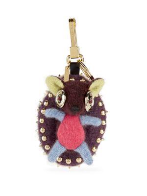 Hedgehog Cotton Bag Charm