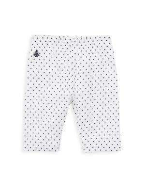 Baby's Polka-Dot Cotton Pants