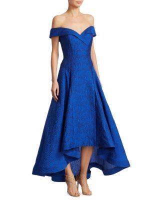 Jacquard Hi-Lo Gown