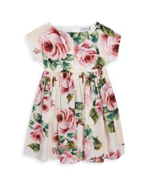 Toddler's, Little Girl's & Girl's Floral Cotton Dress
