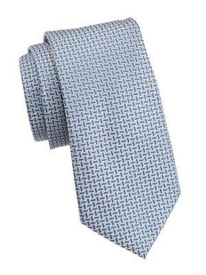Striped Silk Tie