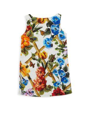 Toddler's, Little Girl's & Girl's Floral Dress