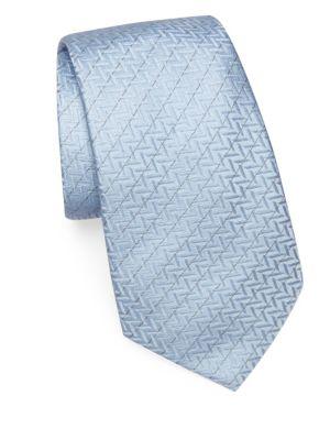 Zigzag Silk Tie
