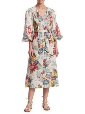 Kali Floral-Print Dress