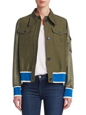 designer bomber jacket