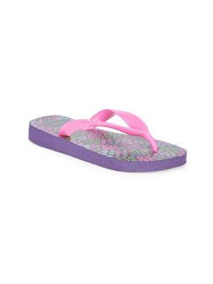 Toddler's & Girl's Flores Flip Flops