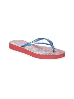 Slim Princess Snow White Flipflops
