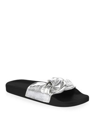 Rebecca Minkoff Classic Leather Slides bt1xPa