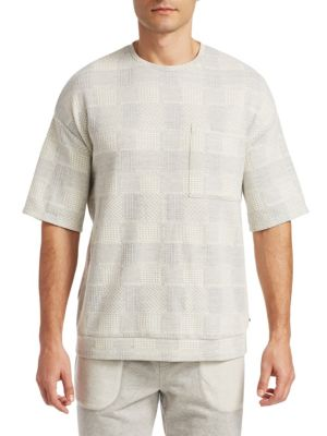 MADISON SUPPLY Knit Fairisle Shirt