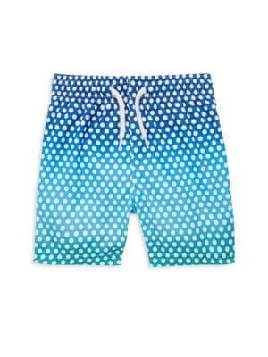 Baby Boy's, Toddler's & Little Boy's Polka Dots Swim Trunks